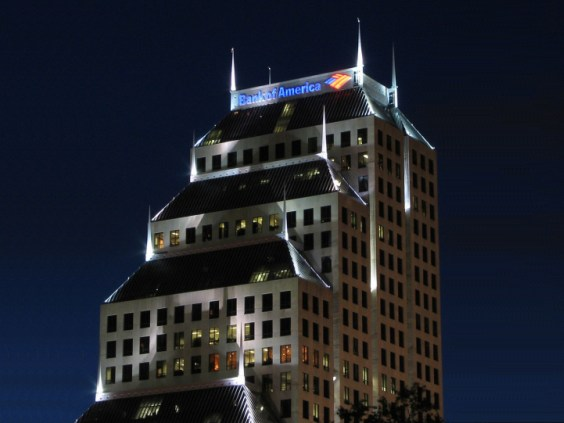 Bank of America Building in Downtown Orlando
